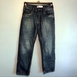 Levi's 505 boys size 16 medium wash in Euc